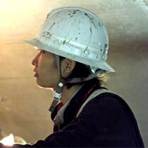 現場ではー津軽蓬田トンネルの女性技術者ー