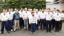 「職場の花から戦力へ がんばれドボジョ」/中村土建(株) 柏倉亜美さん