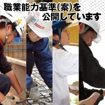 職業能力基準(案)を公開しています